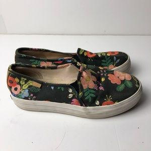 KEDS Double Decker Canvass Slip On Shoes